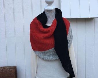 A Wooly Hug - scarf, wrap, shawl