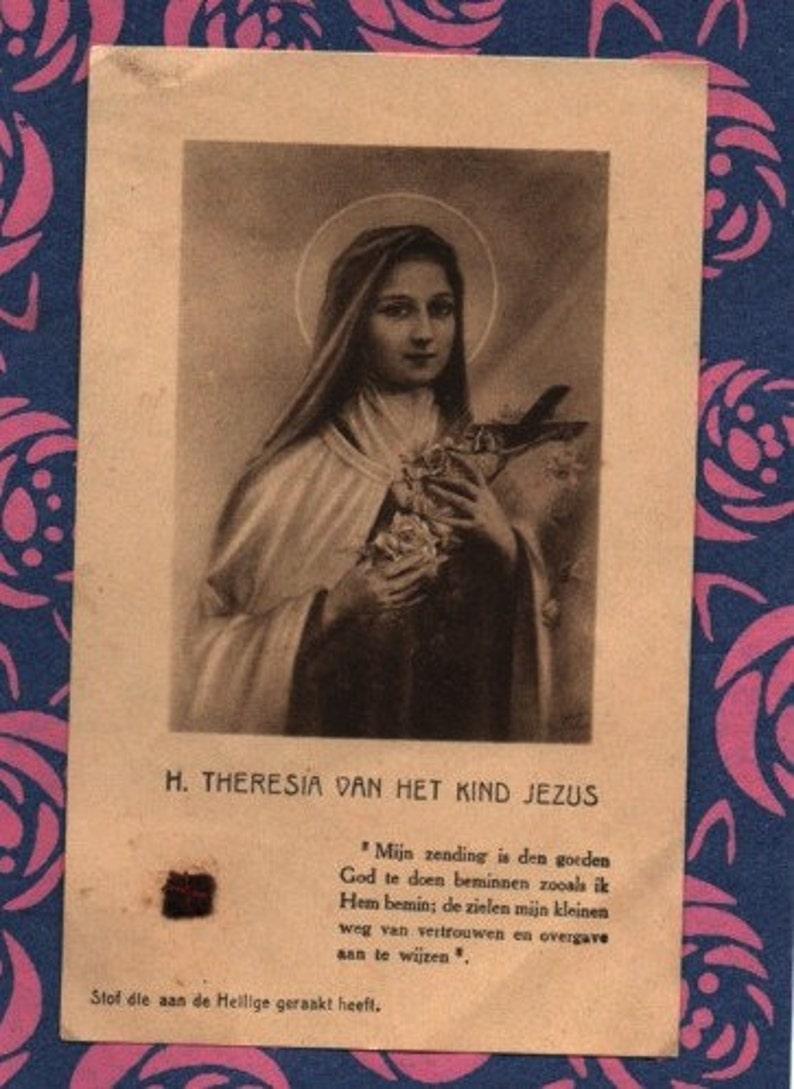 Carmelitas Therese Lisieux Virgen Doctor VintageEtsy St De OPkZXTiu