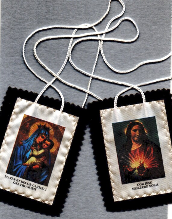 Carmelite Brown Scapular Of Our Lady Of Mount Carmel Free Postage To Any Address In The World Is Included Traditional Catholic Item