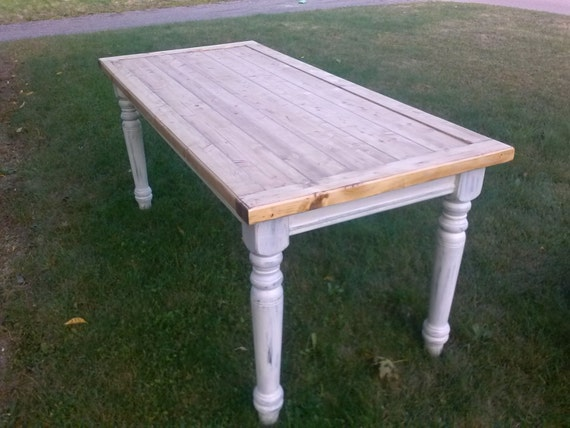 Rustic Farmhouse Table Farm Table Dining Table Reclaimed | Etsy