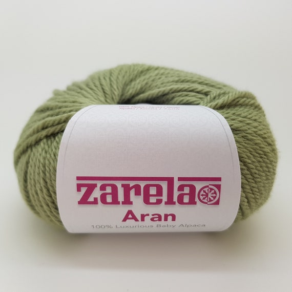 Zarela ARAN ***Super Soft*** 100/% Luxurious Baby Alpaca Yarn Red Wine