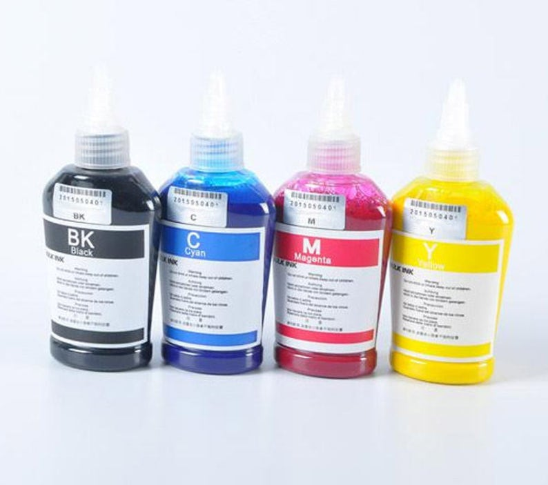 0736db0c443d7 4 x 100ml 400ml Bottle For Epson Dye Sublimation Ink Non OEM Free Shipping