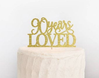 Card Stock Cake Toppers