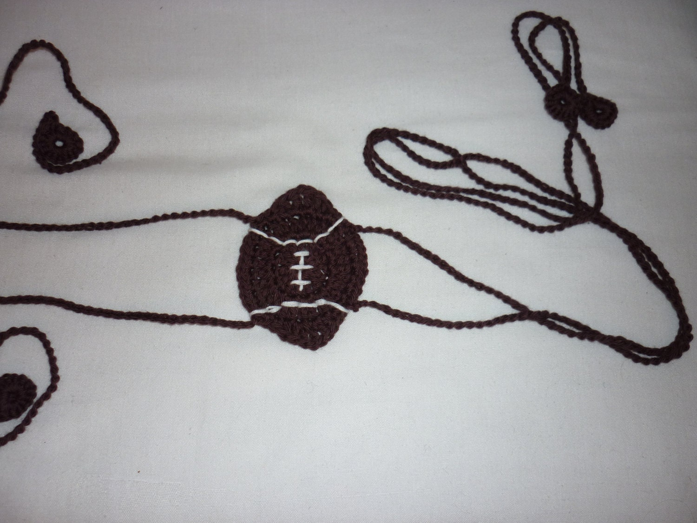 Crochet fútbol tanga lencería erótica tanga tanga del | Etsy