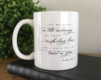 Let me hear in the Morning // 11 oz. mug