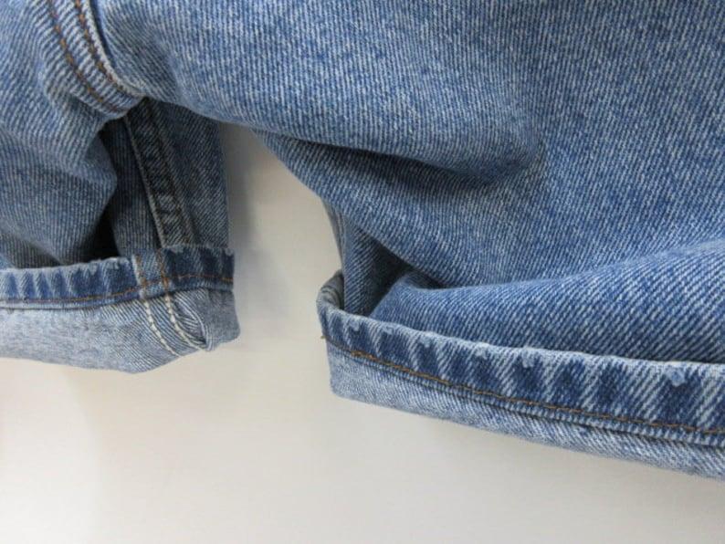 Size 34 505 Levi/'s denim shorts~Regular Fit 34 waist worn denim so-cal guys Levis~faded jean shorts