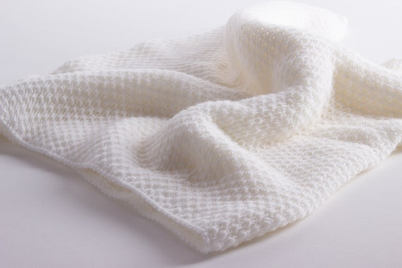 The Warmest Cashmere Baby Blanket