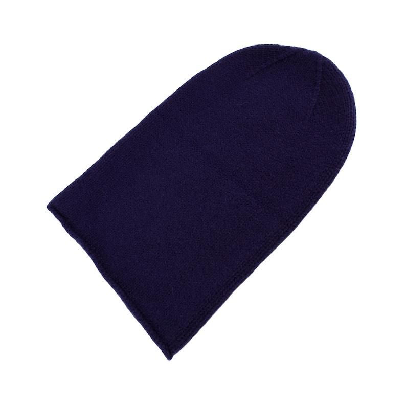 1add1c8d193e5 Mens 100% Cashmere Beanie Hat - 'Light Navy' - handmade in Scotland by Love  Cashmere
