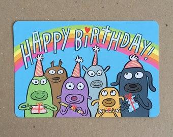 Happy Birthday Postcard!