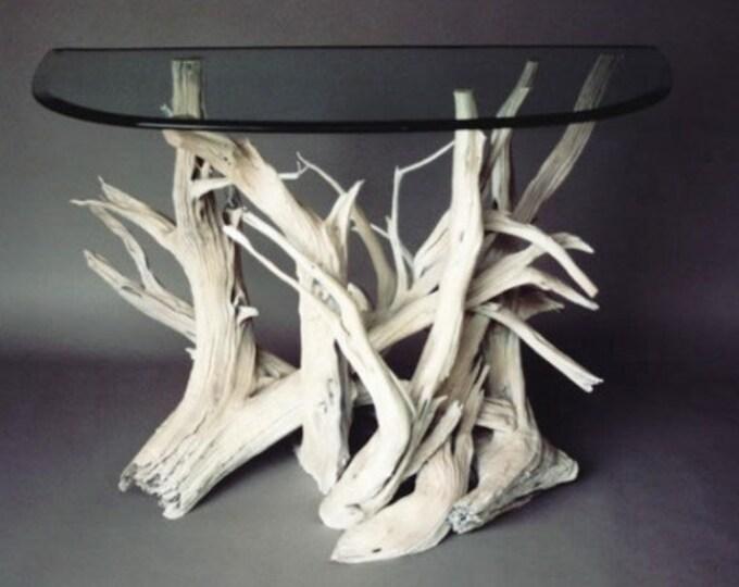 Driftwood Buffet Table. Handmade From Reclaimed Driftwood