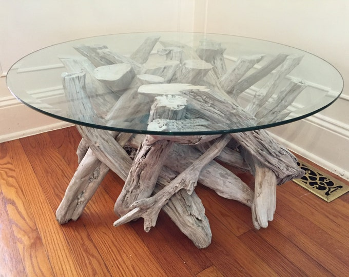 Driftwood Coffee Table. Style 3. Handmade from Reclaimed Driftwood.