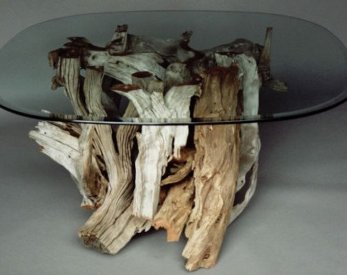 Driftwood Coffee Table. Style 1. Handmade From Reclaimed Driftwood