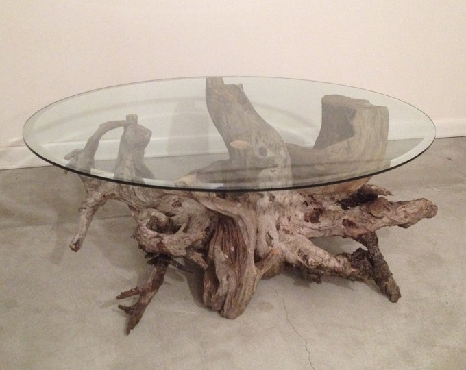 Driftwood Coffee Table. Style 4. Handmade from Reclaimed Driftwood.