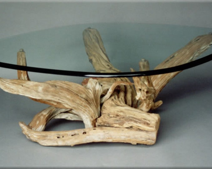 Driftwood Coffee Table. Style 2. Handmade from Reclaimed Driftwood.