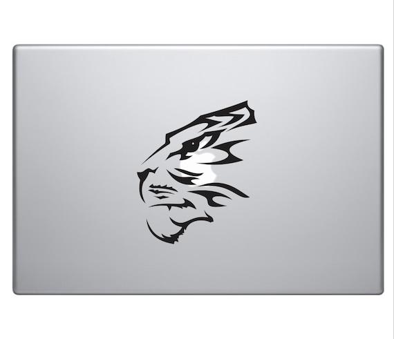 TIGER FACE Tribal Tattoo Vinyl Decal Sticker Car Macbook Laptop Motorcycle Decal