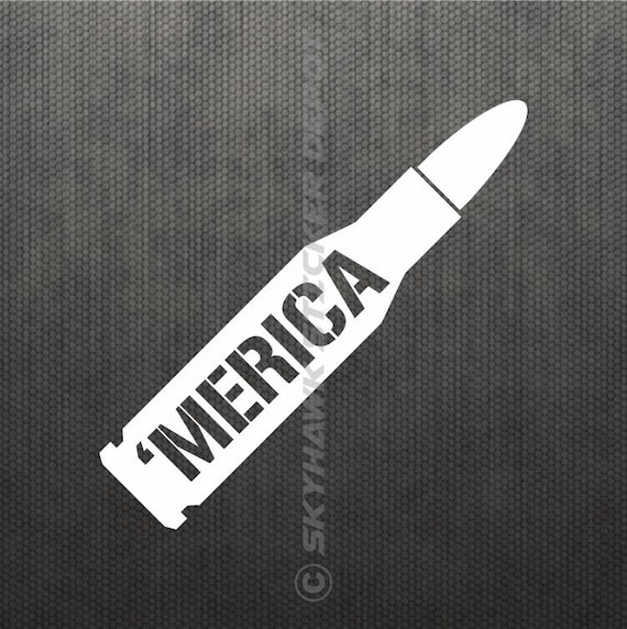 American Made Decal Sticker Graphic America /'Merica USA Car Truck Suv