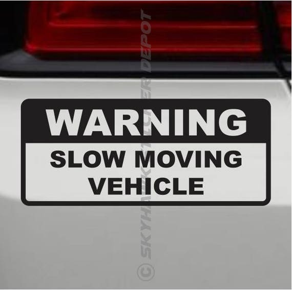 DECAL JDM VAN LOWERED LOW MOVING AS FAST AS I CAN  FUNNY CAR BUMPER STICKER
