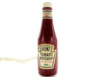 Vintage Heinz Ketchup Push Button Telephone #A50