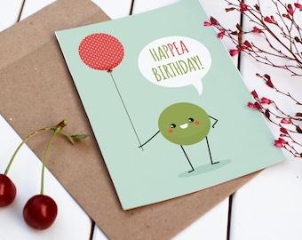 Printable Birthday Card | Funny Birthday Card | A Toast to Your Birthday | Pun Card | Funny Card | Boyfriend Birthday | Girlfriend Birthday