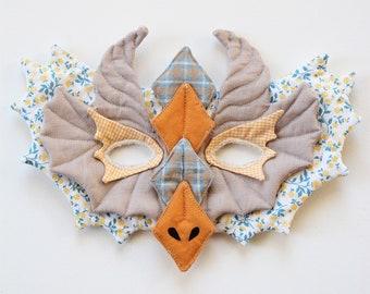 Patron costume de DRAGON (masque et cape)