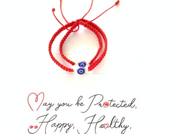 Baby Bracelet, Mommy Matching Red Bracelet, Red String Bracelet For Baby, Baby Evil Eye Protection Bracelet, Pulsera Bebe, Cute Mommy and Me