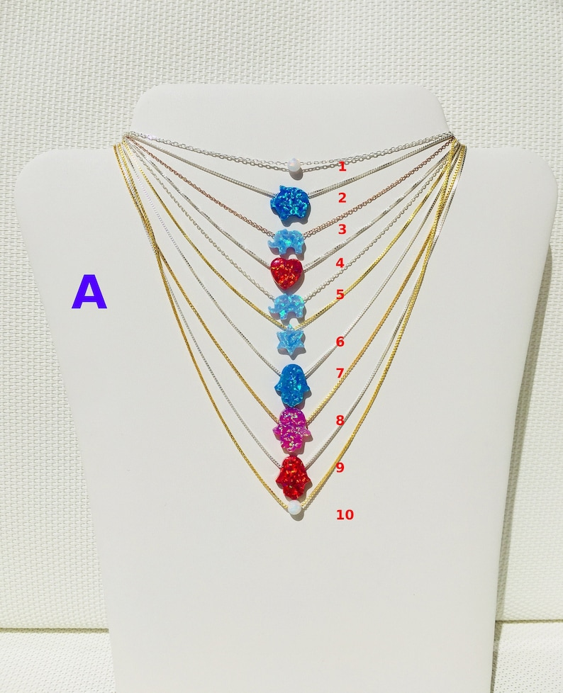 Opal Necklaces Clearance Sale For Women and Kids Priced to image 0
