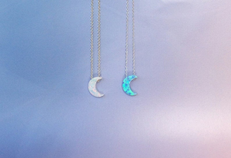 Moon Necklace for the Moon Goddess in you A sweet Gift to to image 0
