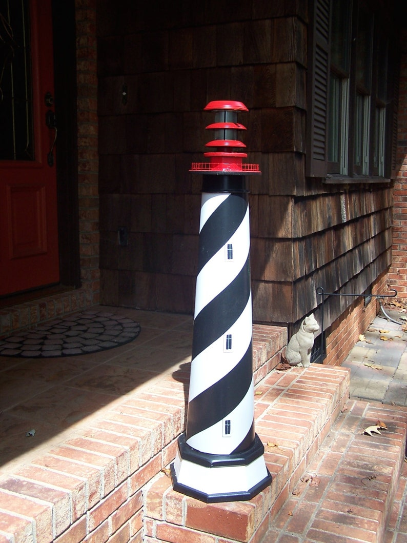 St. Augustine Lighthouse Solar decorative lawn and garden  image 0