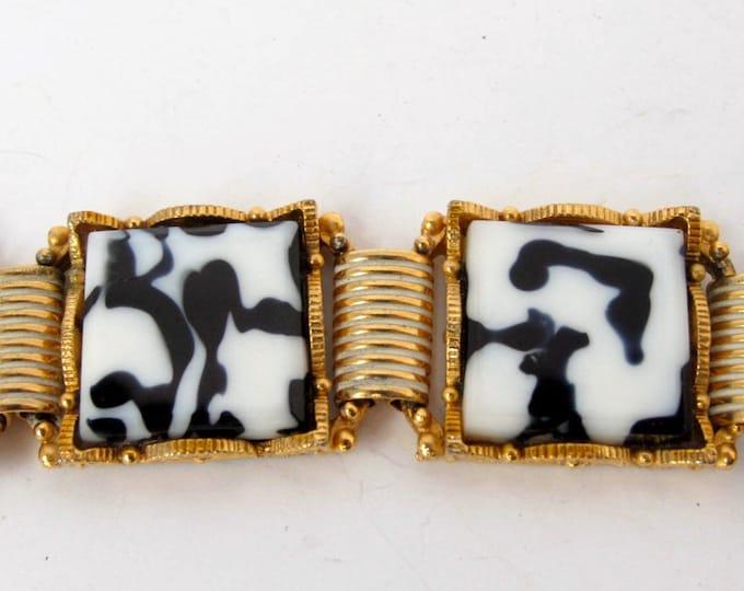 Black /white bracelet