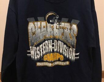 Vintage San Diego Chargers Sweatshirt '94
