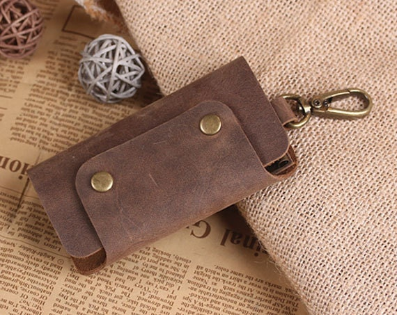 Hand Crafted Leather Key Holder Leather Key Case Vintage  4d0c89c7c