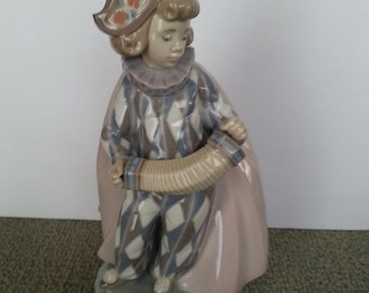 Lladro Concertina Figurine #5695