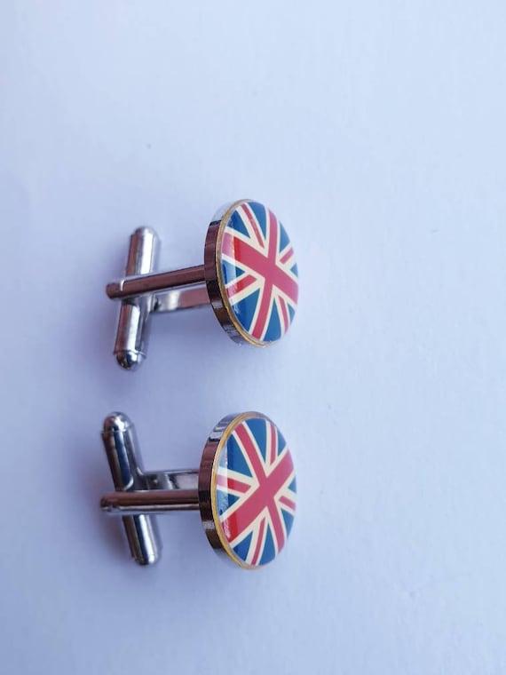British Heart Flag Cufflinks