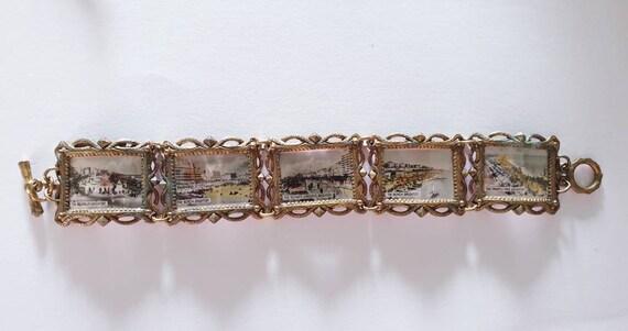 Antique Brighton souvenir bracelet