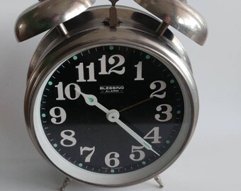 Vintage double bell Blessing alarm clock