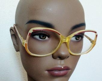 Vintage bug eye glasses retro eyewear I.D. de Paris