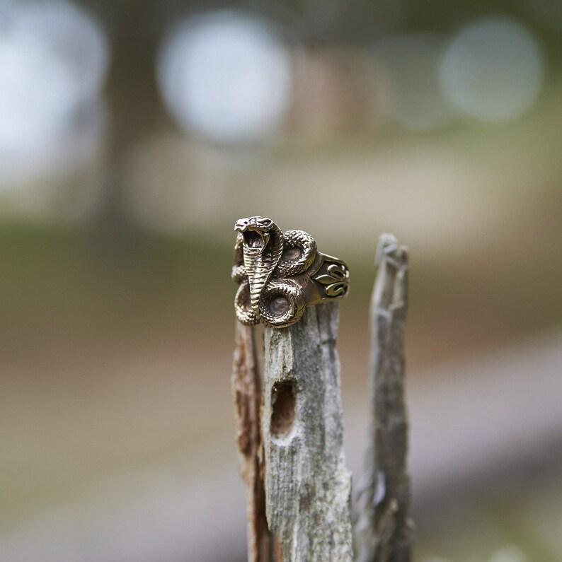 f8ffceddf67 Snake Ring Bronze Serpent Ring Bague Serpent Snake Jewelry