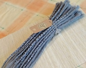 Human Hair Dreadlocks - Silver Grey / Dreadlock Extensions / Extensions / silver / Dreads