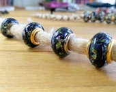 Dreadbeads m. real devil's claw/natural pearls/dreadbeads dreadlock beads/beard beads/dreadlock beads