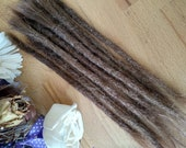 European Human Hair Dreadlocks Dark Blonde / Dread Extensions / Extensions - Dark Blonde