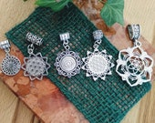 "Dread beads ""Flower of Life"""