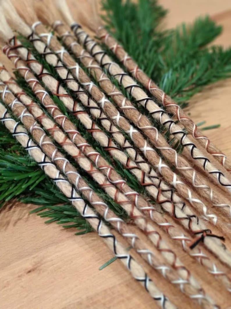 Boho decoration of dreads DESCRIPTION READ image 0