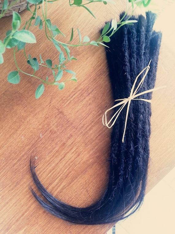 Human Hair Dreadlocksdread Extensionsextensions Black Brown