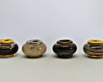 Dread beads with animal hair EURER pets / immortalize your darlings