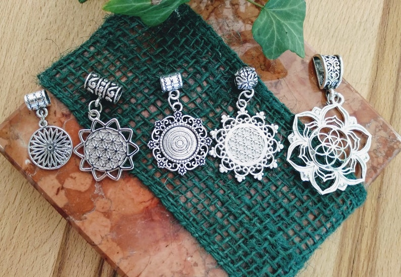 Dread beads Flower of Life image 0