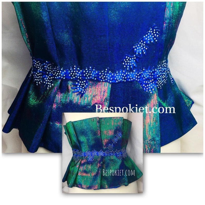 0957965f7c FREE UK SHIPPING Bedazzled 3 tone aso oke ruffled belt to transform your  outfit.Aso oke belt