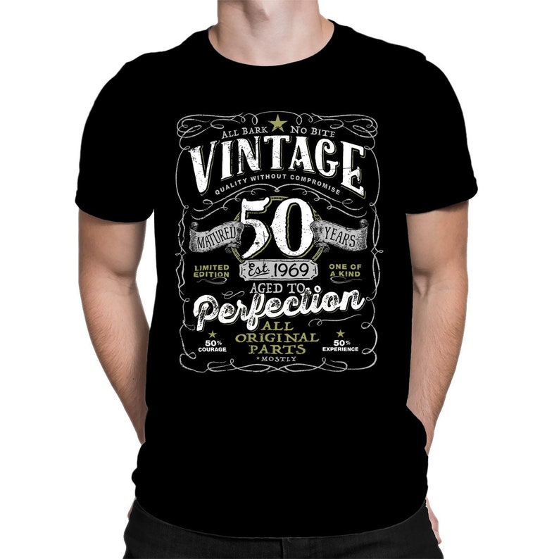 c2723780 50th Birthday Shirt For Men and Women Vintage 1969 Aged To   Etsy