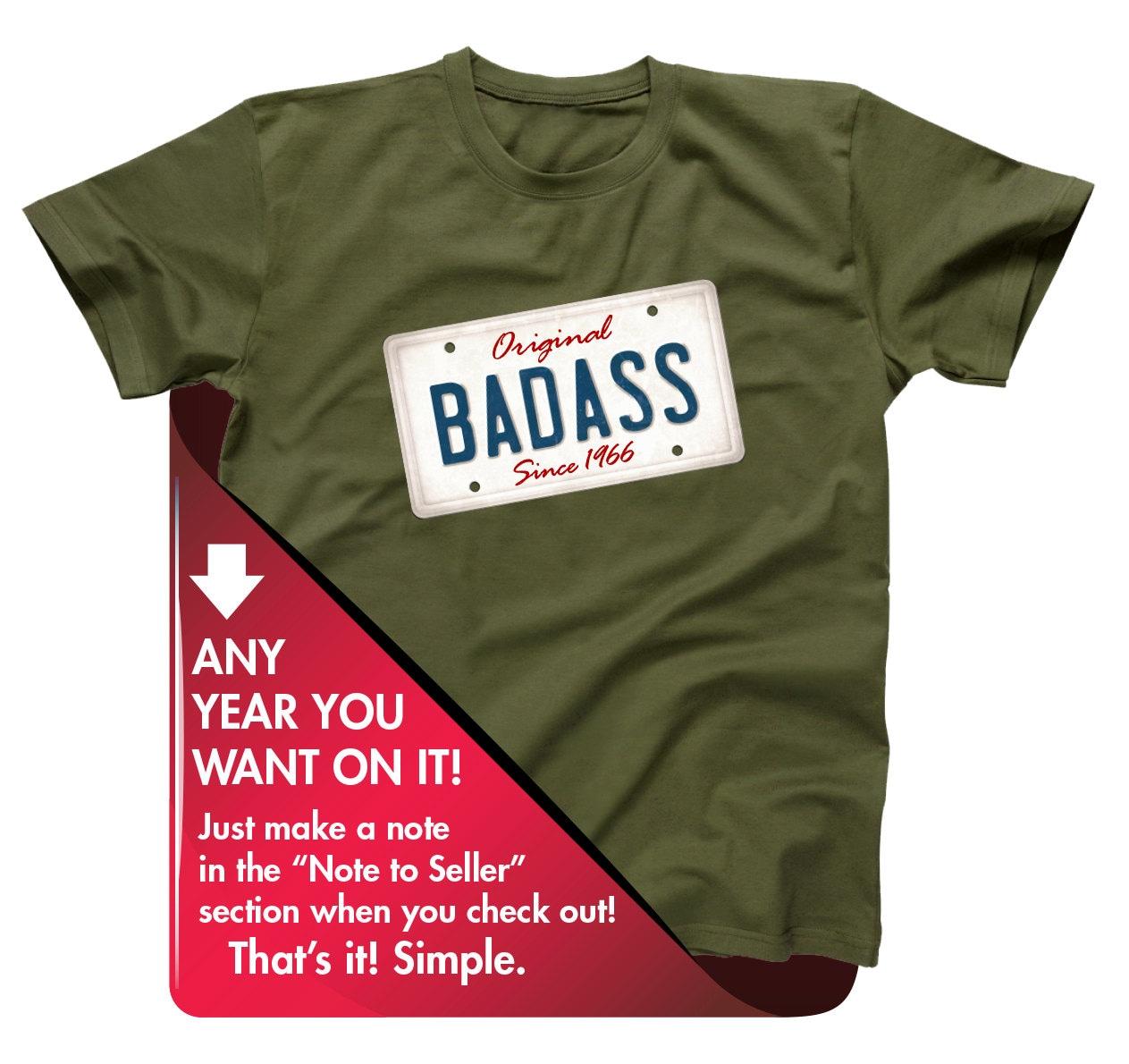 50th Birthday Gift For Men And Women Original Badass