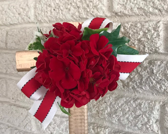 Cemetery flowers , flowers for grave, grave decoration, memorial cross, Cross for grave, cemetery cross.