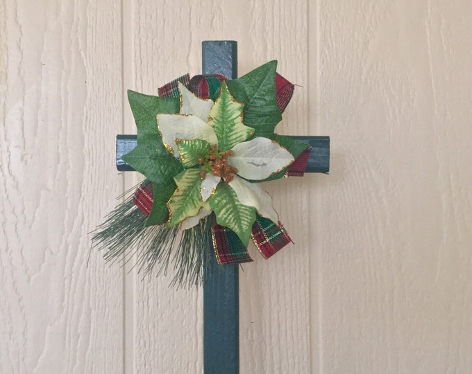 Cemetery flowers - Christmas grave - cemetery decoration - Memorial - cemetery and funeral